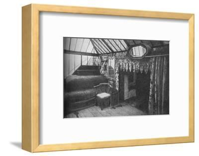 'Victor Hugo's study at Hauteville House - The Room in Which Les Miserables Was Written', c1925-Unknown-Framed Photographic Print