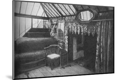'Victor Hugo's study at Hauteville House - The Room in Which Les Miserables Was Written', c1925-Unknown-Mounted Photographic Print