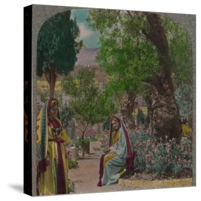 'In the Garden of Gethsemane', c1900-Unknown-Stretched Canvas Print