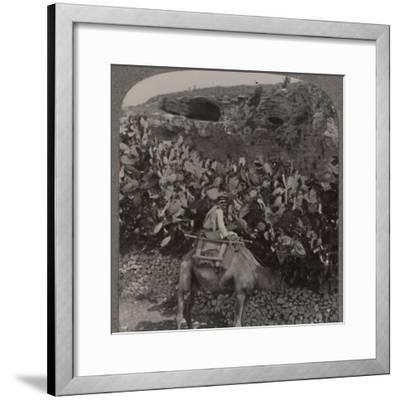 'Golgotha (The Place of the Skull)', c1900-Unknown-Framed Photographic Print