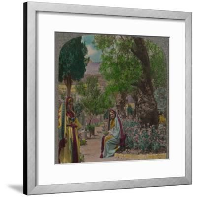 'In the Garden of Gethsemane', c1900-Unknown-Framed Photographic Print
