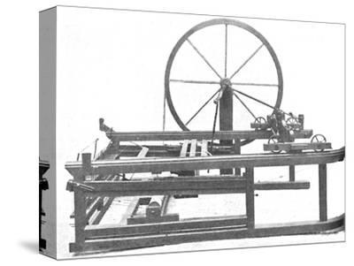 'The Ingenious Spinning Jenny Invented by James Hargreaves', c1925-Unknown-Stretched Canvas Print