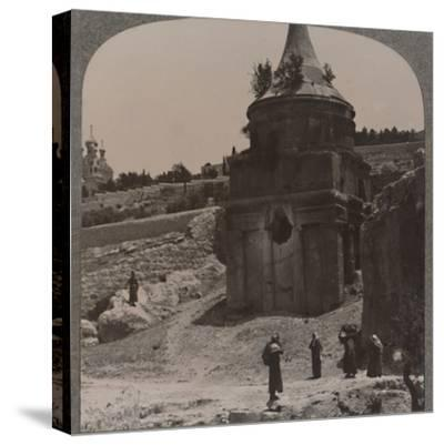 'The Tomb of Absalom in the Valley of Jehosaphat', c1900-Unknown-Stretched Canvas Print