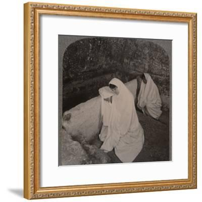 'Interior of the Tomb of Christ, c1900-Unknown-Framed Photographic Print