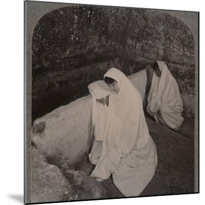 'Interior of the Tomb of Christ, c1900-Unknown-Mounted Photographic Print