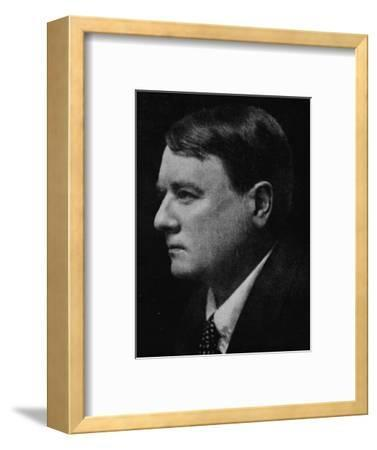 'Lord Northcliffe - The Famous Journalist's Favourite Portrait', c1925-Unknown-Framed Photographic Print