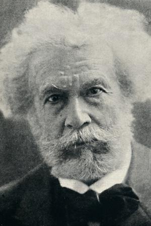 'Camille Flammarion - A Veteran Watcher of the Heavens', c1925-Unknown-Framed Photographic Print