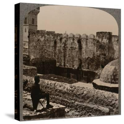 'Mosque Machpela', c1900-Unknown-Stretched Canvas Print