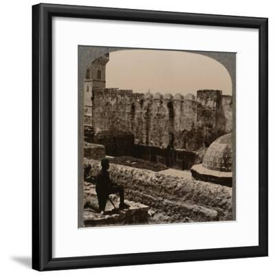 'Mosque Machpela', c1900-Unknown-Framed Photographic Print