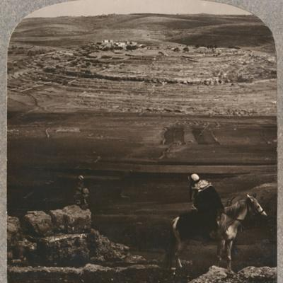 'Mizpeh, with Jacob's Pllar of Stones', c1900-Unknown-Framed Photographic Print