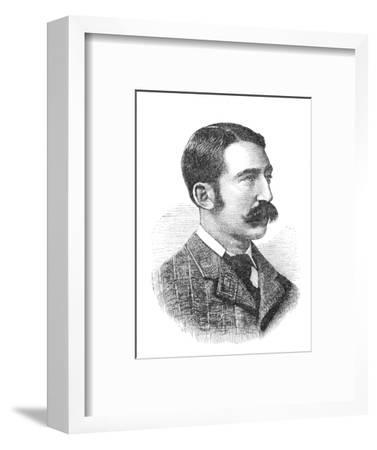 'Lieutenant Chard', c1880-Unknown-Framed Giclee Print