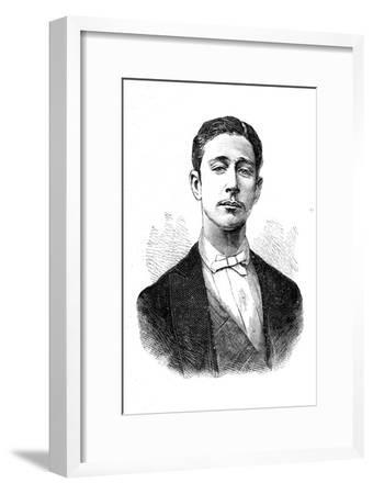 'Prince Louis Napoleon', c1880-Unknown-Framed Giclee Print