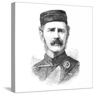 'Major-General E. Newdigate, C.B.', c1880-Unknown-Stretched Canvas Print