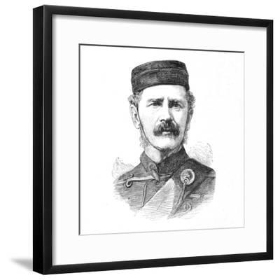 'Major-General E. Newdigate, C.B.', c1880-Unknown-Framed Giclee Print