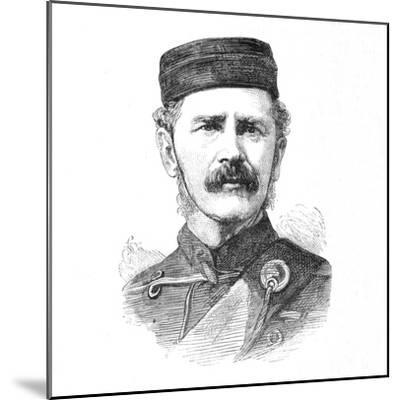 'Major-General E. Newdigate, C.B.', c1880-Unknown-Mounted Giclee Print