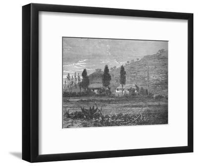 'Rorke's Drift before the Attack', 1879, (c1880)-Unknown-Framed Giclee Print