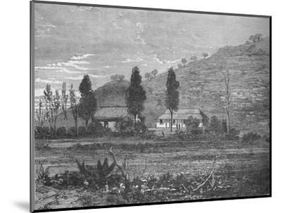 'Rorke's Drift before the Attack', 1879, (c1880)-Unknown-Mounted Giclee Print