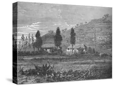 'Rorke's Drift before the Attack', 1879, (c1880)-Unknown-Stretched Canvas Print