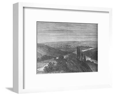 'King William's Town, from near the Aqueduct', c1880-Unknown-Framed Giclee Print