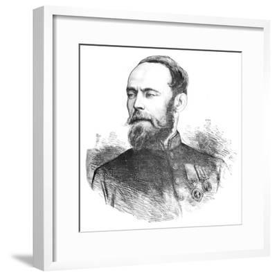 'Sir Louis Cavagnari', c1880-Unknown-Framed Giclee Print