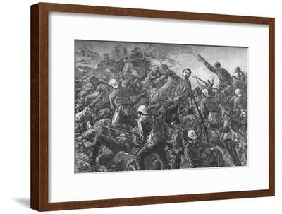 'Colonel Galbraith at the Battle of Maiwand', c1880-Unknown-Framed Giclee Print