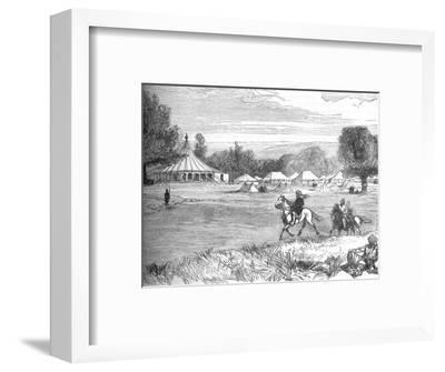 'Camp of Ameer Yakoub Khan, Gundamuk', c1880-Unknown-Framed Giclee Print