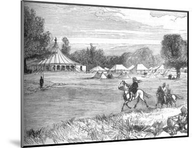 'Camp of Ameer Yakoub Khan, Gundamuk', c1880-Unknown-Mounted Giclee Print