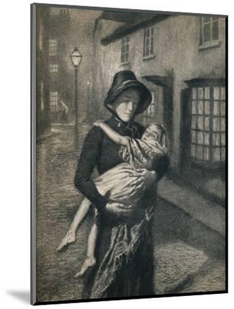 'The Good Samaritan', 1911, (1912)-Gunning King-Mounted Giclee Print