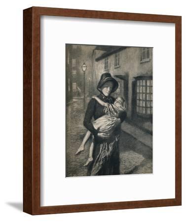 'The Good Samaritan', 1911, (1912)-Gunning King-Framed Giclee Print