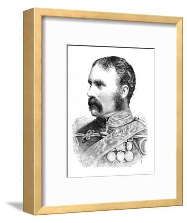 'Brigadier-General H. F. Brooke', c1880-Unknown-Framed Giclee Print