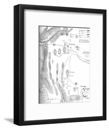 'Plan of the Battle of Charasiah, (Oct. 6, 1979)', c1880-Unknown-Framed Giclee Print