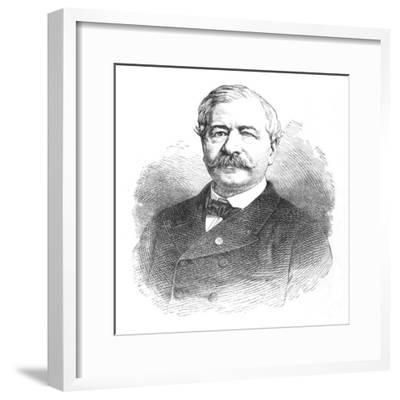 'M. De Lesseps', c1882-Unknown-Framed Giclee Print