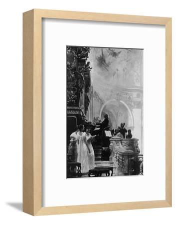 'Gloria in Excelsis', c1890, (1911)-Unknown-Framed Photographic Print