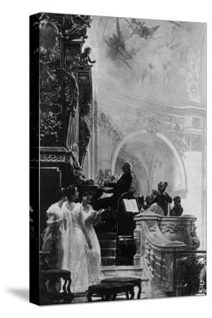 'Gloria in Excelsis', c1890, (1911)-Unknown-Stretched Canvas Print