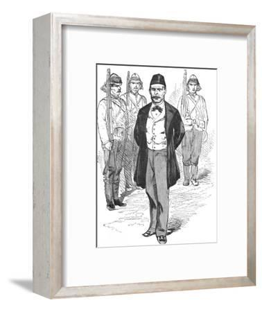 'Mahmoud Fehmy, Chief of Arabi's Staff', c1882-Unknown-Framed Giclee Print
