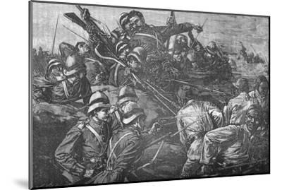 'The Highland Brigade Storming The Trenches at Tel-El-Kebir', c1882-Unknown-Mounted Giclee Print