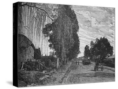'View near Pretoria', c1880-Unknown-Stretched Canvas Print