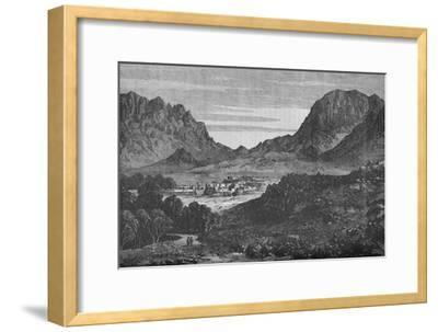 The Argandab Valley, Showing on the right the Hills of the Baba Wali Pass', c1880-Unknown-Framed Giclee Print
