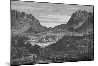 The Argandab Valley, Showing on the right the Hills of the Baba Wali Pass', c1880-Unknown-Mounted Giclee Print