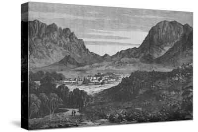 The Argandab Valley, Showing on the right the Hills of the Baba Wali Pass', c1880-Unknown-Stretched Canvas Print