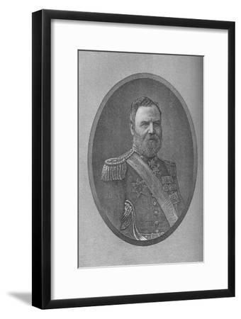 'Lord Alcester', c1882-Unknown-Framed Giclee Print