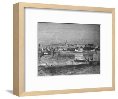 'Citadel in Cairo, from the Nile', c1882-Unknown-Framed Giclee Print