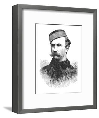 'Major Marter', c1880-Unknown-Framed Giclee Print