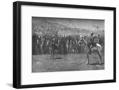 'The Indian Contingent - The Thirteenth Bengal Lancers', c1882-Unknown-Framed Giclee Print