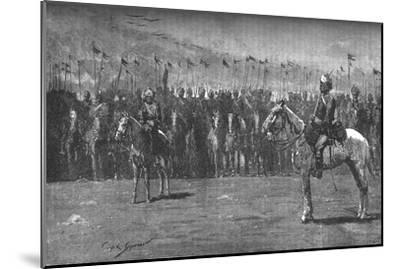 'The Indian Contingent - The Thirteenth Bengal Lancers', c1882-Unknown-Mounted Giclee Print