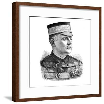 'Major-General Sir Herbert Macpherson, Commander of the Indian Contingent', c1882.-Unknown-Framed Giclee Print