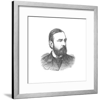 'Colonel Goodenough, Commanding the Royal Artillery', c1882-Unknown-Framed Giclee Print