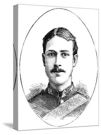 'Lieutenant Henry Gribble, 3rd Dragoon Guards', c1882-Unknown-Stretched Canvas Print
