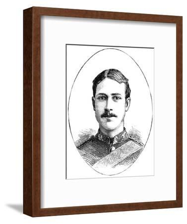 'Lieutenant Henry Gribble, 3rd Dragoon Guards', c1882-Unknown-Framed Giclee Print