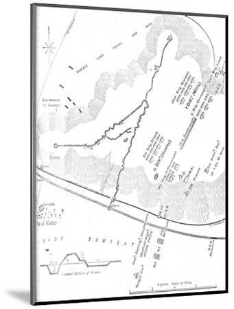 'Plan of the Battle of Tel-El-Kebir, (September 13, 1882)', c1882-Unknown-Mounted Giclee Print